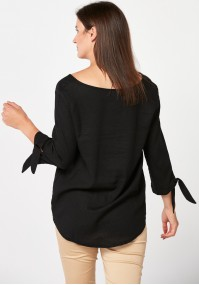 Black loose Blouse
