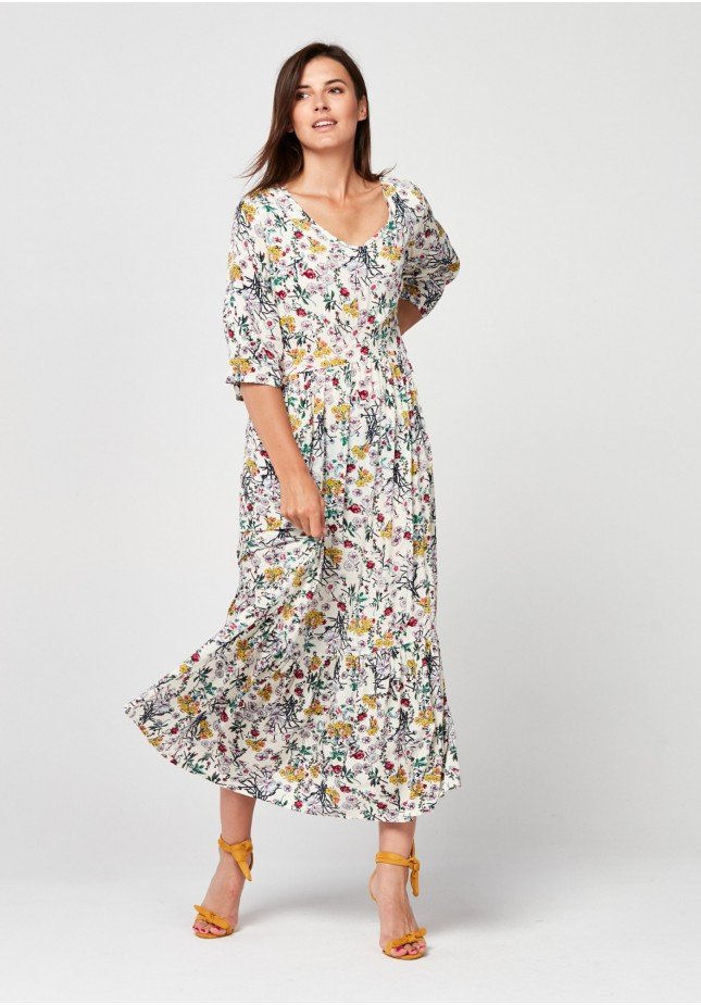Sukienka 1075 (biała)