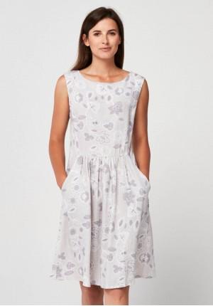 Letnia sukienka w kwiaty