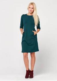 Elegant dress with pockets
