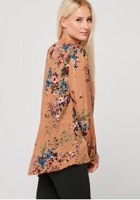 Brown loose blouse