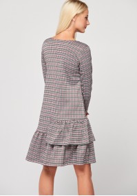 Small shepherd's plaid dress