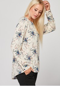 Bright loose blouse