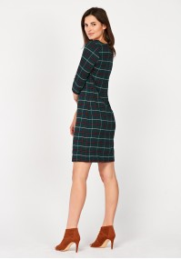 Simple checkered dress