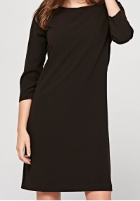 Simple brown dress