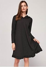 Sukienka 1438 (ciemnoszary)