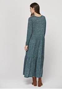 Long knitted dress