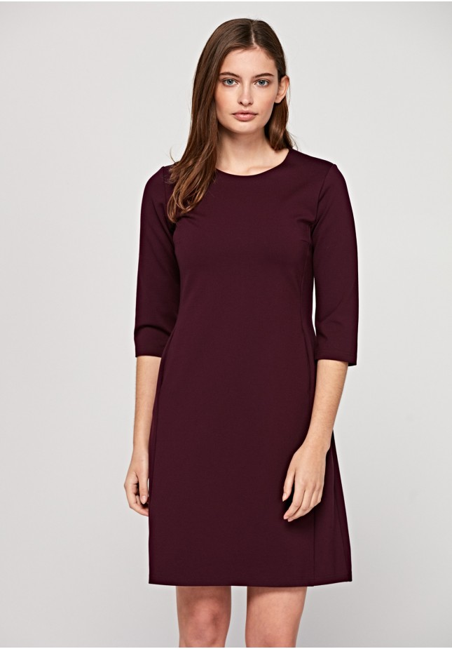 Sukienka 1404 (bordowa)