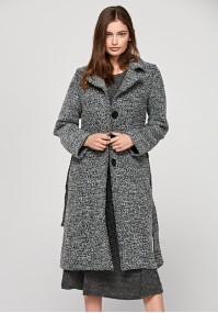 Wiązany płaszcz