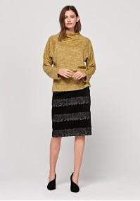 Sweter z półgolfem