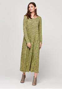 Swobodna długa sukienka