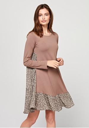Loose boho dress