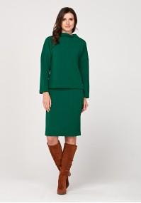 Pencil green skirt