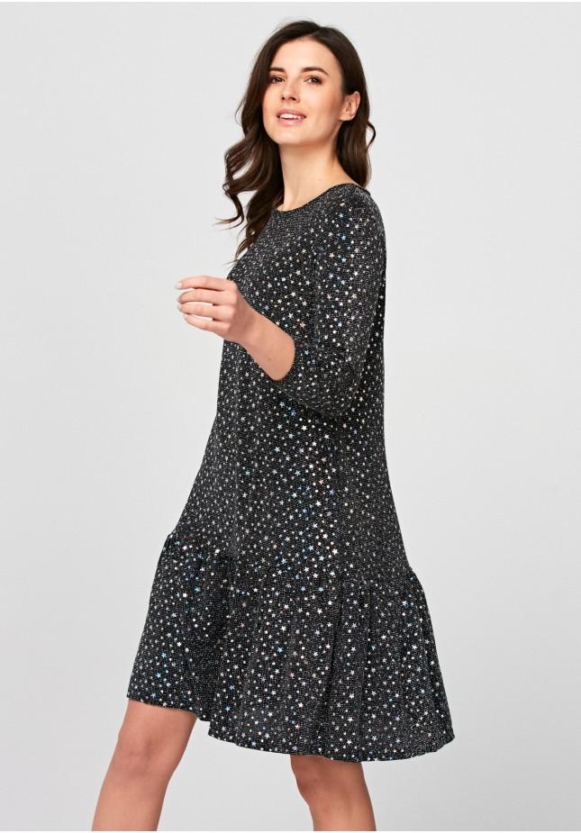 Sukienka z gwiazdkami