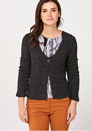 Sweter na jeden guzik