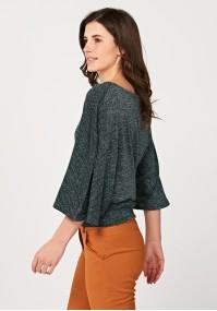 Luźny sweter nietoperz