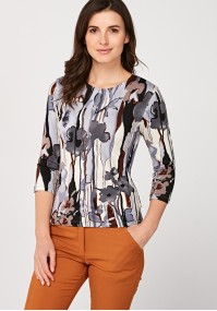 Fitted blouse
