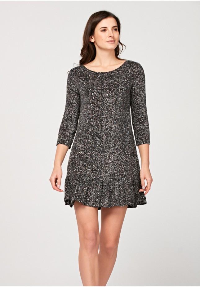 Sukienka z brokatem
