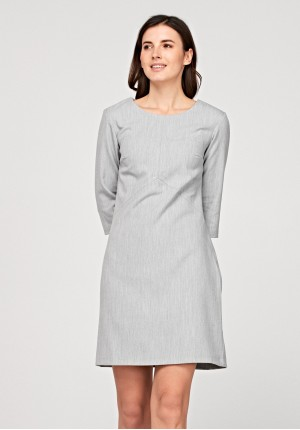 Simple grey dress