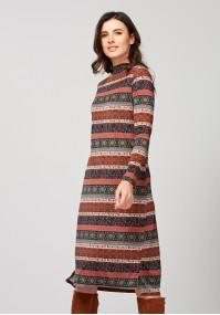 Sukienka z półgolfem