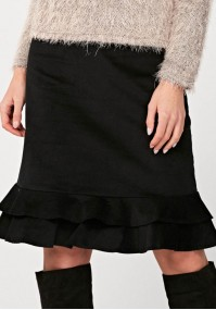 Skirt with frill