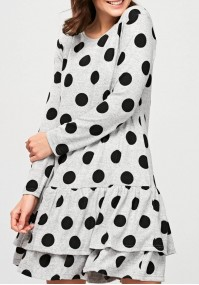 Sukienka z kropki