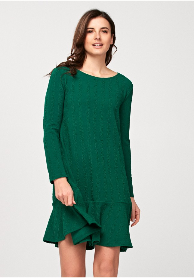 Sukienka 1424 (zielona)