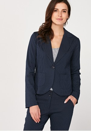 Blazer with dots