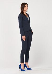 Navy Blue pants with dots