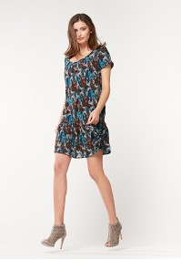 Summer paisley dress