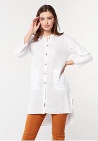 Lniana koszula