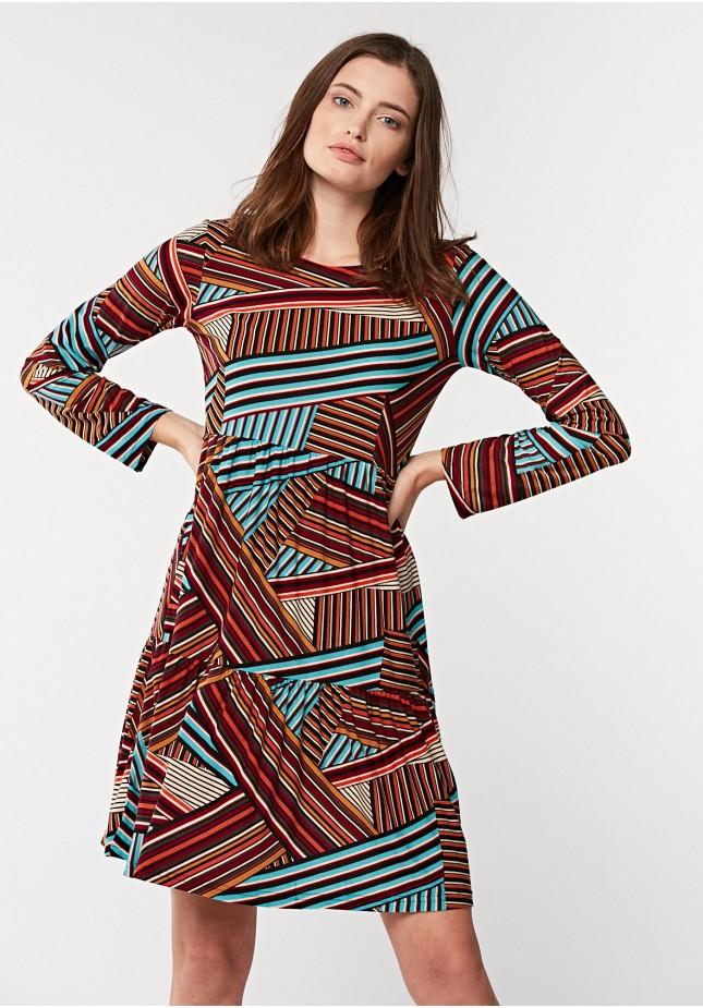 Odcinana sukienka