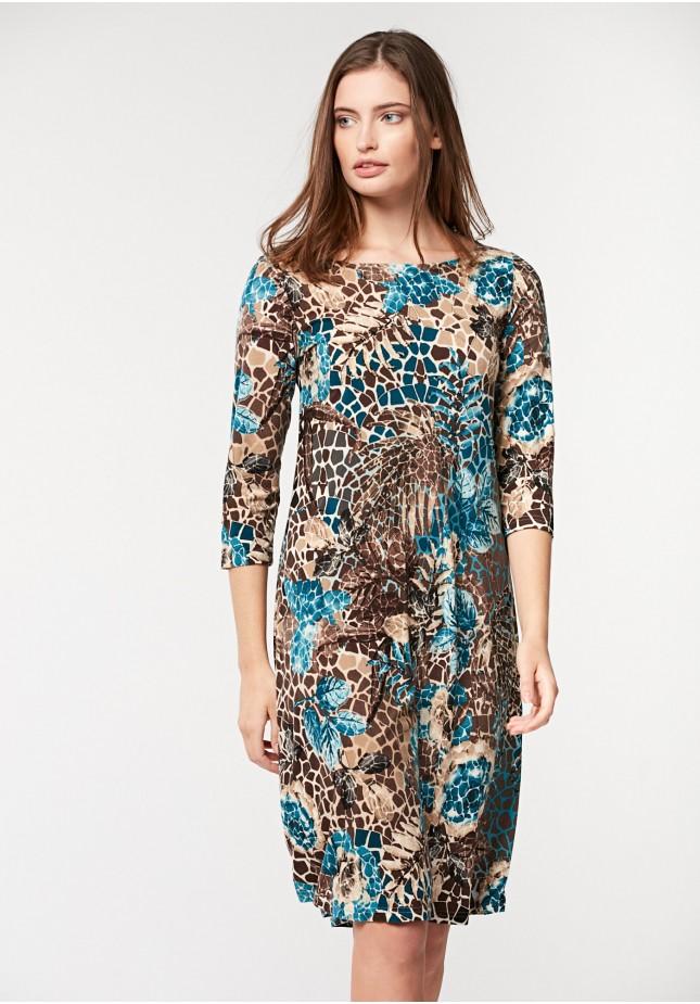 Trapezowa sukienka