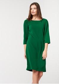 Prosta zielona sukienka