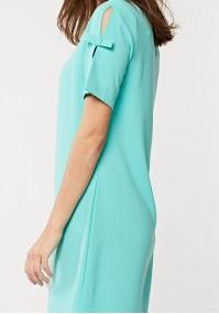 Simple light blue dress