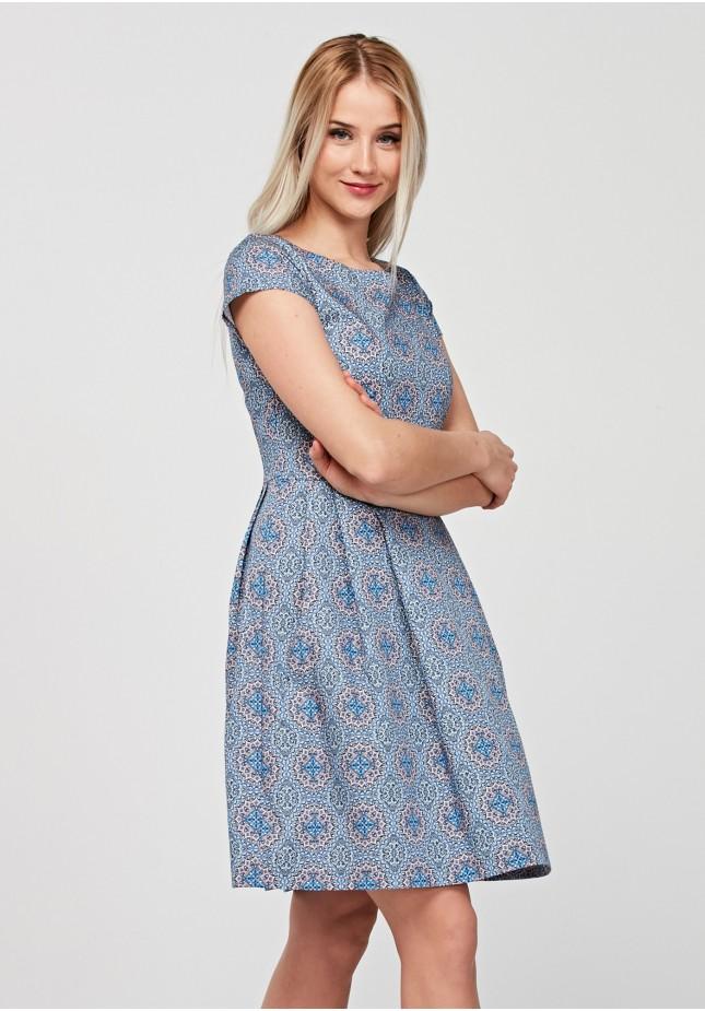 Elegant tapered waist dress