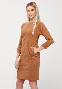 Sukienka 1200 (brązowa)
