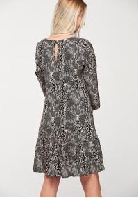 Sukienka skóra węża