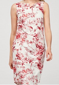 Fitted linen dress