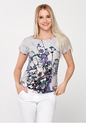 Dopasowany t-shirt