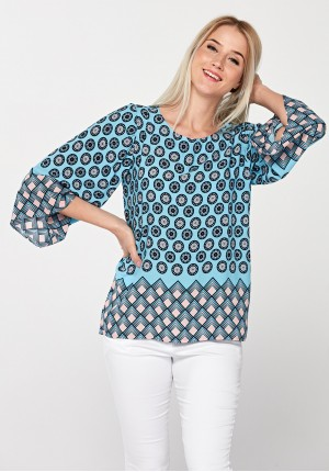 Bluzka 3999 (niebieska)