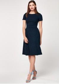 Navy elegant dress