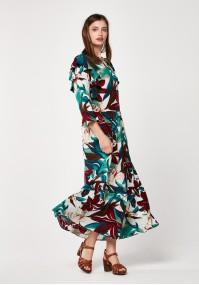Maxi mutlicoloured dress
