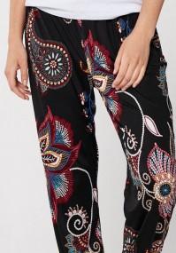 Black home pants