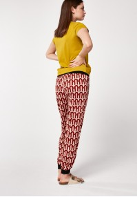 Patterend home pants
