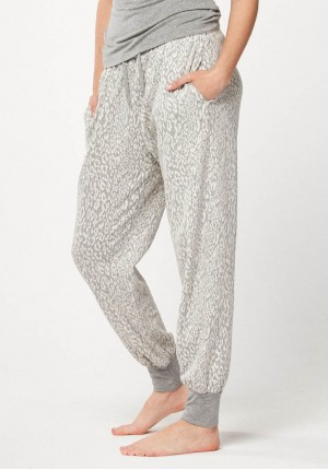 Pants with animal pattern