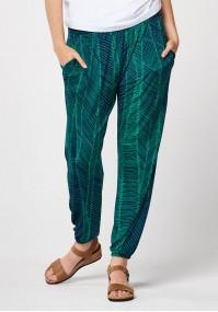 Green home pants