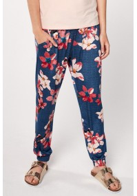 Pants with pink flowers