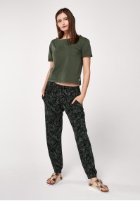 Khaki comfortable pants