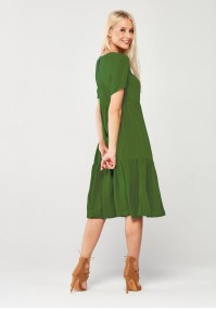 Airy Green Dress